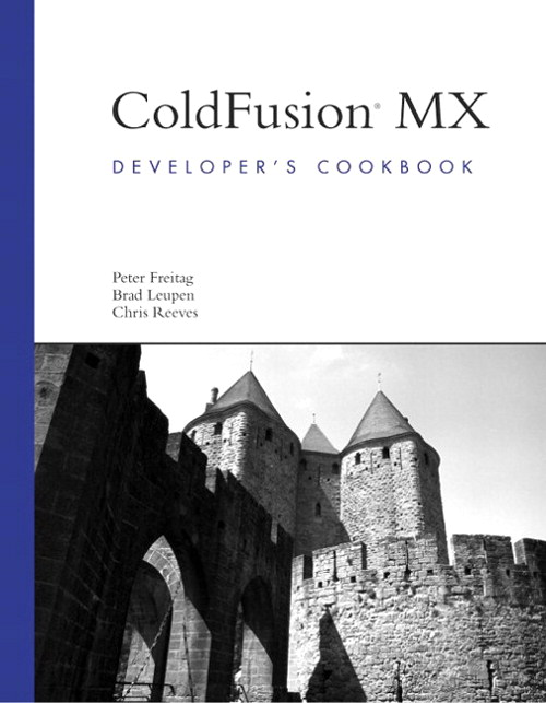 ColdFusion MX Developer's Cookbook