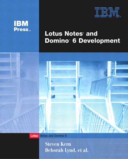 Lotus Notes and Domino 6 Development, 2nd Edition