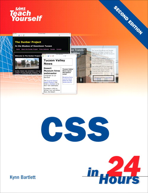 Sams Teach Yourself CSS in 24 Hours, 2nd Edition