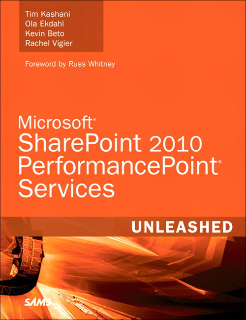 Microsoft SharePoint 2010 PerformancePoint Services Unleashed