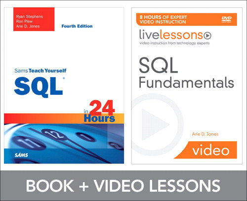 SQL Fundamentals LiveLessons Bundle