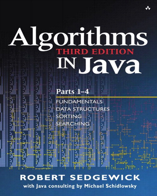 Algorithms in Java, Parts 1-4, Portable Documents, 3rd Edition