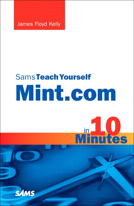 Sams Teach Yourself Mint.com in 10 Minutes