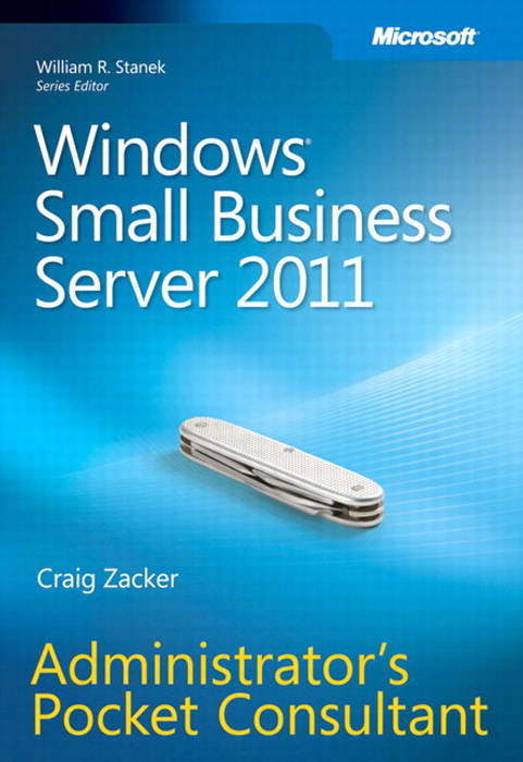 Windows Small Business Server 2011 Administrator's Pocket Consultant