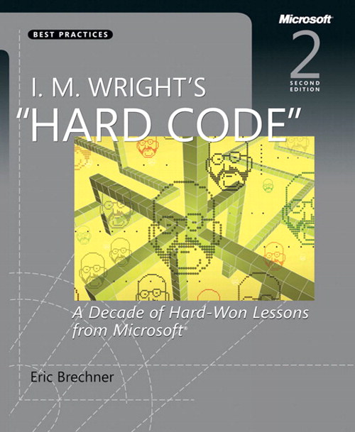 I.M. Wright's Hard Code: A Decade of Hard-Won Lessons from Microsoft, 2nd Edition