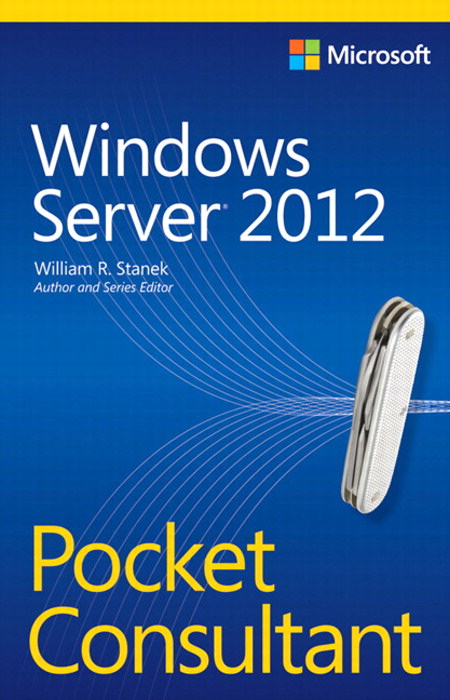 Windows Server 2012 Pocket Consultant