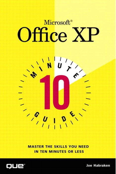 10 Minute Guide to Microsoft Office XP, Adobe Reader
