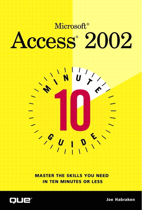 10 Minute Guide to Microsoft Access 2002, Adobe Reader