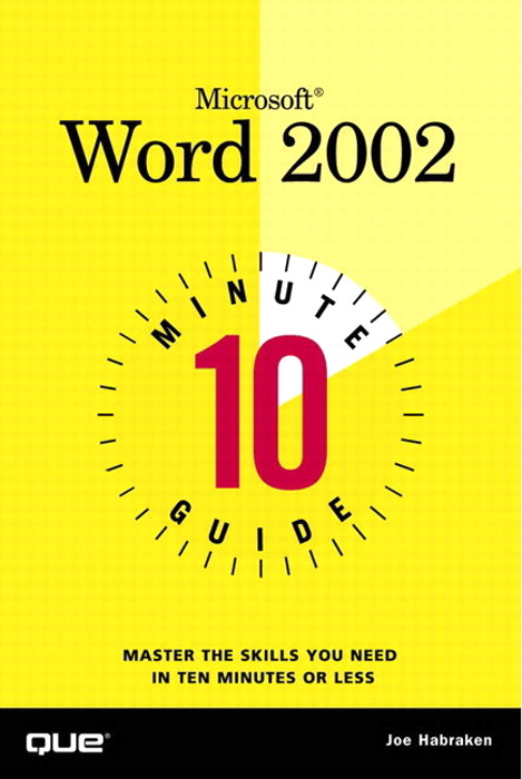 10 Minute Guide to Microsoft Word 2002, Adobe Reader