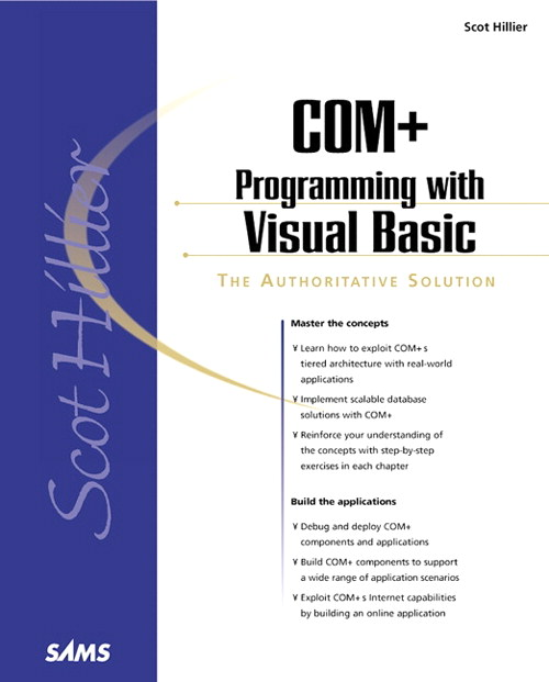 Scot Hillier's COM+ Programming with Visual Basic, Adobe Reader