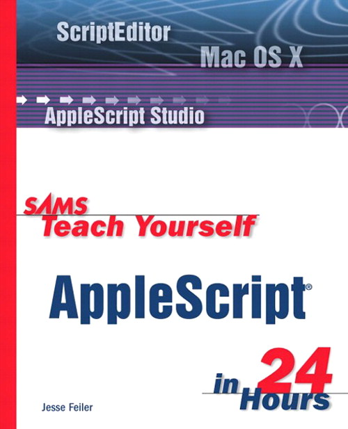 Sams Teach Yourself AppleScript in 24 Hours, Adobe Reader