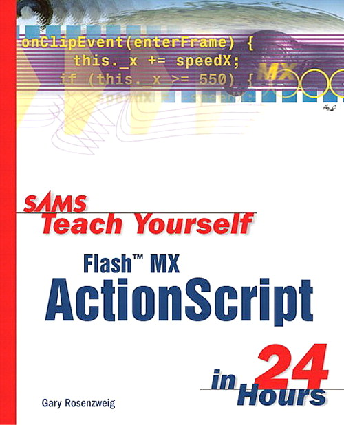 Sams Teach Yourself Flash MX ActionScript in 24 Hours, Adobe Reader