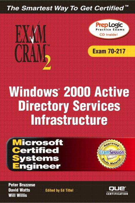 MCSE Windows 2000 Active Directory Services Infrastructure Exam Cram 2 (Exam 70-217), Adobe Reader
