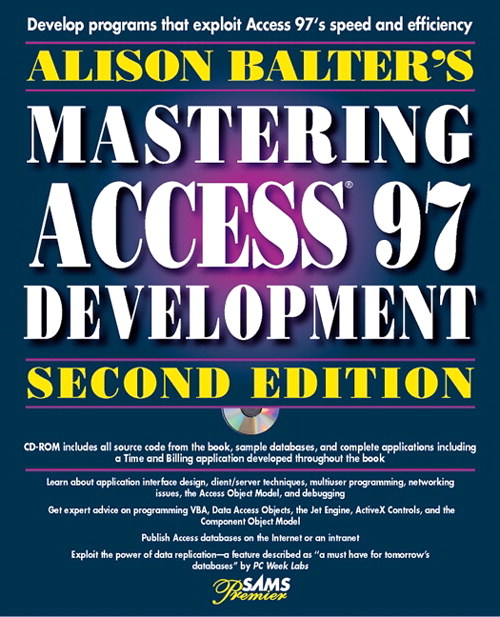 Alison Balter's Mastering Access 97 Development, Premier Edition, Adobe Reader, 2nd Edition