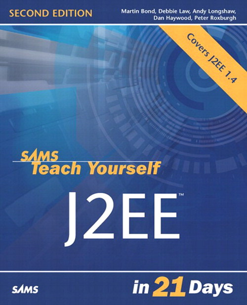 Sams Teach Yourself J2EE in 21 Days, Adobe Reader, 2nd Edition