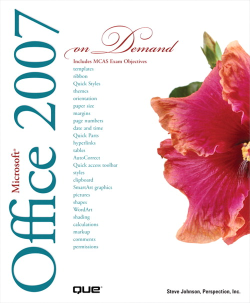Microsoft Office 2007 On Demand