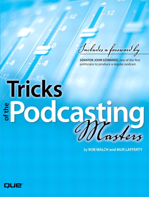 Tricks of the Podcasting Masters, Adobe Reader