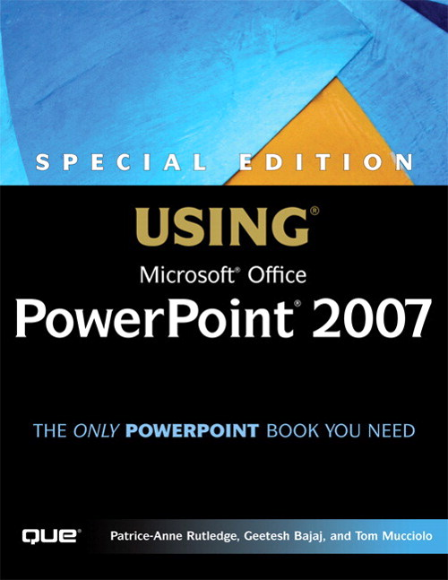 Special Edition Using Microsoft Office PowerPoint 2007, Adobe Reader