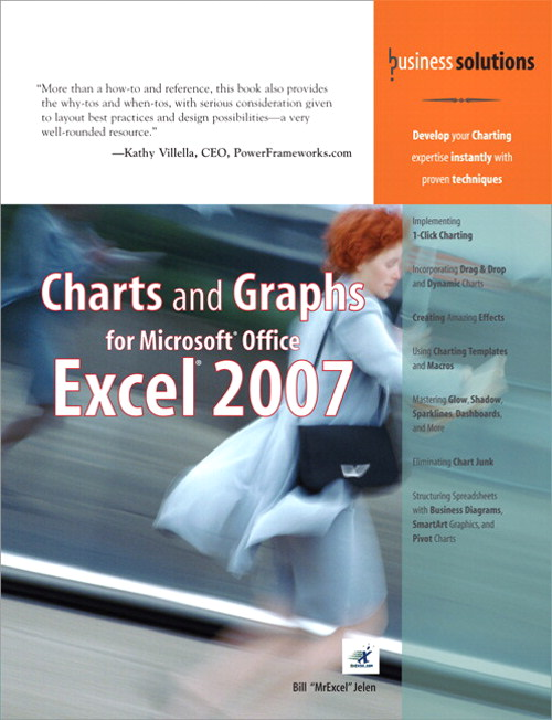 Charts and Graphs for Microsoft Office Excel 2007 (Adobe Reader)