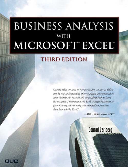 Business Analysis with Microsoft Excel, (Adobe Reader), 3rd Edition