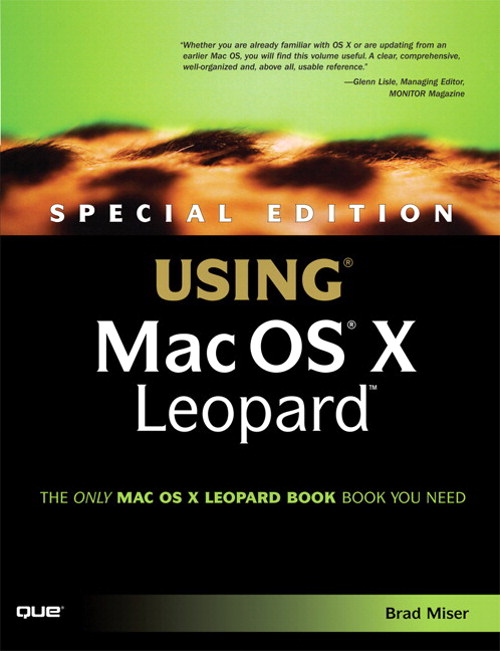Special Edition Using Mac OS X Leopard (Adobe Reader)