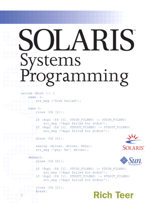 Solaris Systems Programming (paperback)