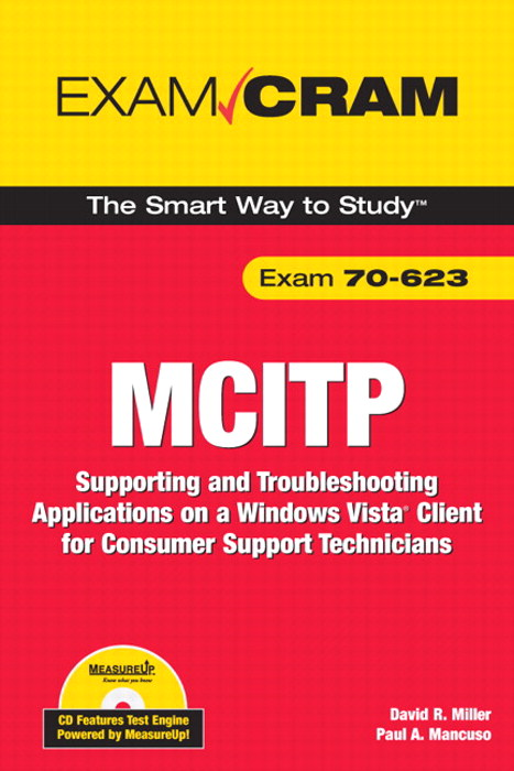 MCITP 70-623 Exam Cram: Supporting and Troubleshooting Applications on a Windows Vista Client for Consumer Support Technicians, Adobe Reader