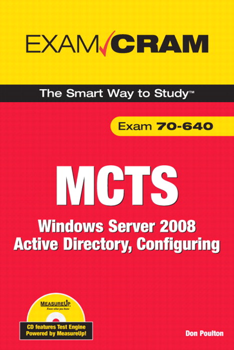 MCTS 70-640 Exam Cram: Windows Server 2008 Active Directory, Configuring, Adobe Reader