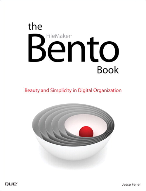 Bento Book, The: Beauty and Simplicity in Digital Organization, Adobe Reader