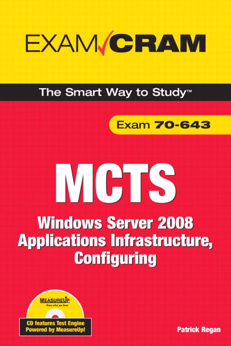 MCTS 70-643 Exam Cram: Windows Server 2008 Applications Infrastructure, Configuring, Adobe Reader
