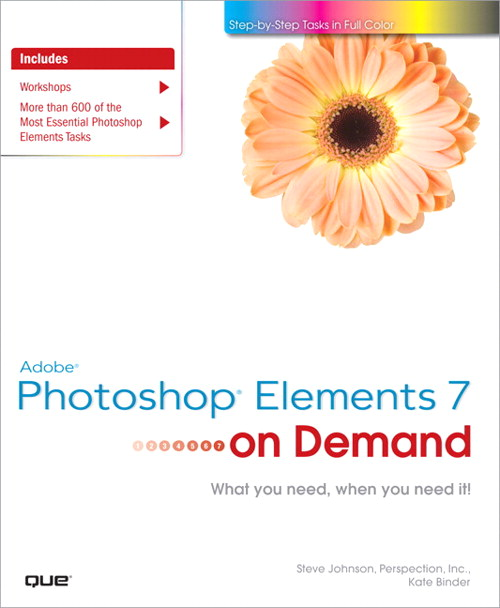 Adobe Photoshop Elements 7 on Demand, Adobe Reader