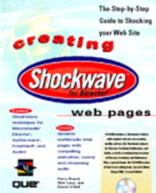 CREATING SHOCKWAVE WEB PAGES
