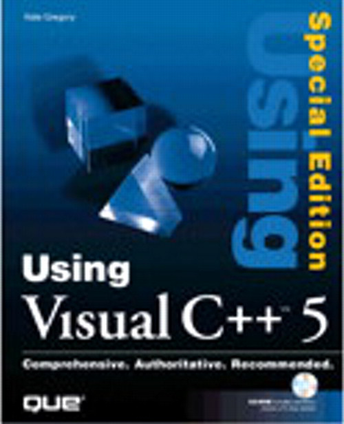 Special Edition Using Visual C++ 5