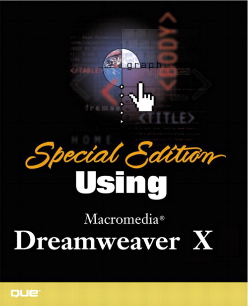 Special Edition Using Macromedia Dreamweaver MX