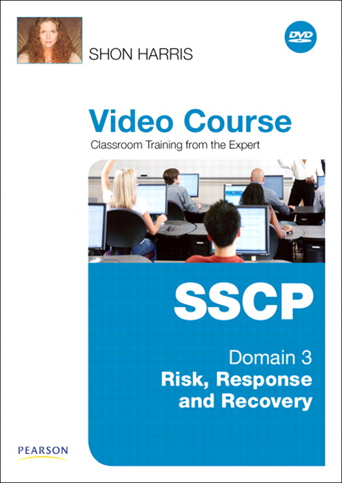 SSCP Video Course Domain 3 - Risk, Response and Recovery, Downloadable Version