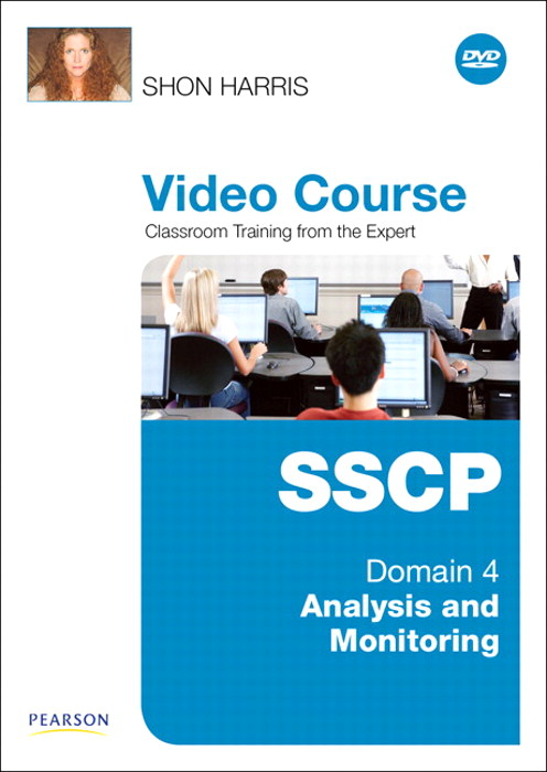 SSCP Video Course Domain 4 - Analysis and Monitoring, Downloadable Version