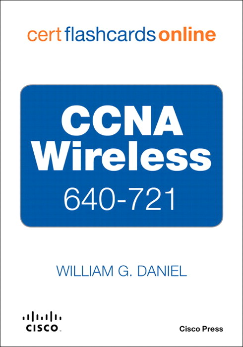 CCNA Wireless 640-721 Cert Flash Cards Online, Retail Packaged Version