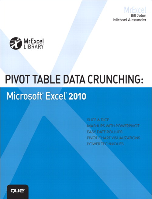 Pivot Table Data Crunching: Microsoft Excel 2010