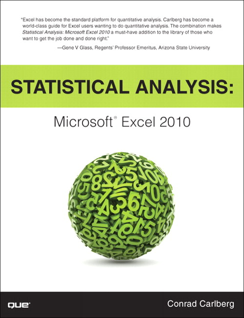 Statistical Analysis: Microsoft Excel 2010