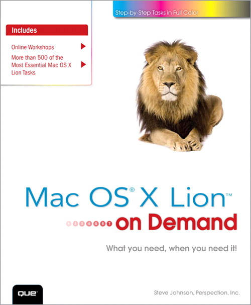 Mac OS X Lion on Demand, 2nd Edition