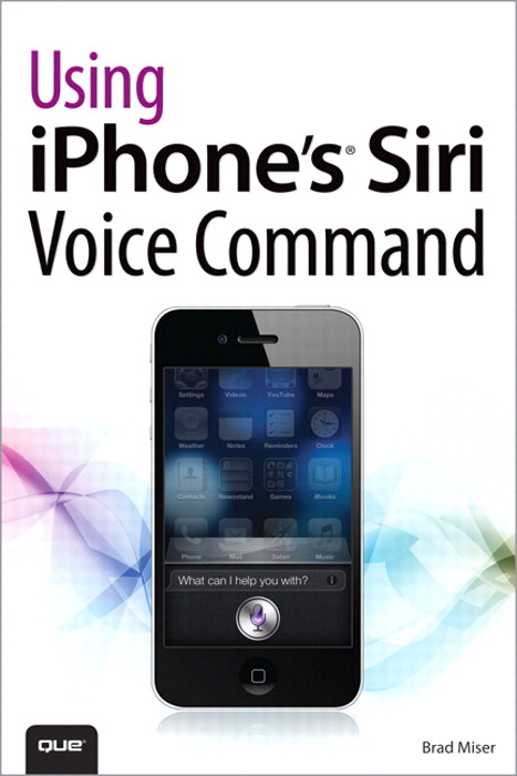 Using iPhone's Siri Voice Command