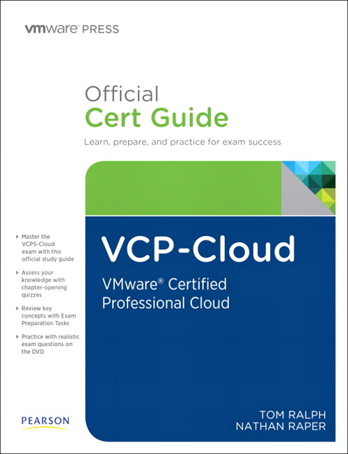 VCP-Cloud Official Cert Guide (with DVD): VMware Certified Professional - Cloud
