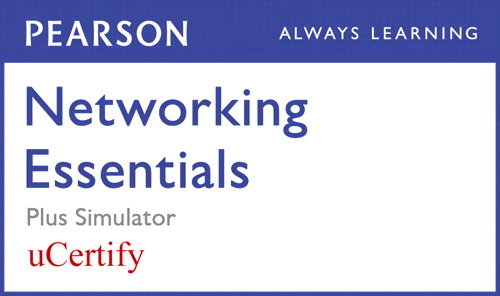 Networking Essentials Pearson uCertify Course and Simulator Bundle