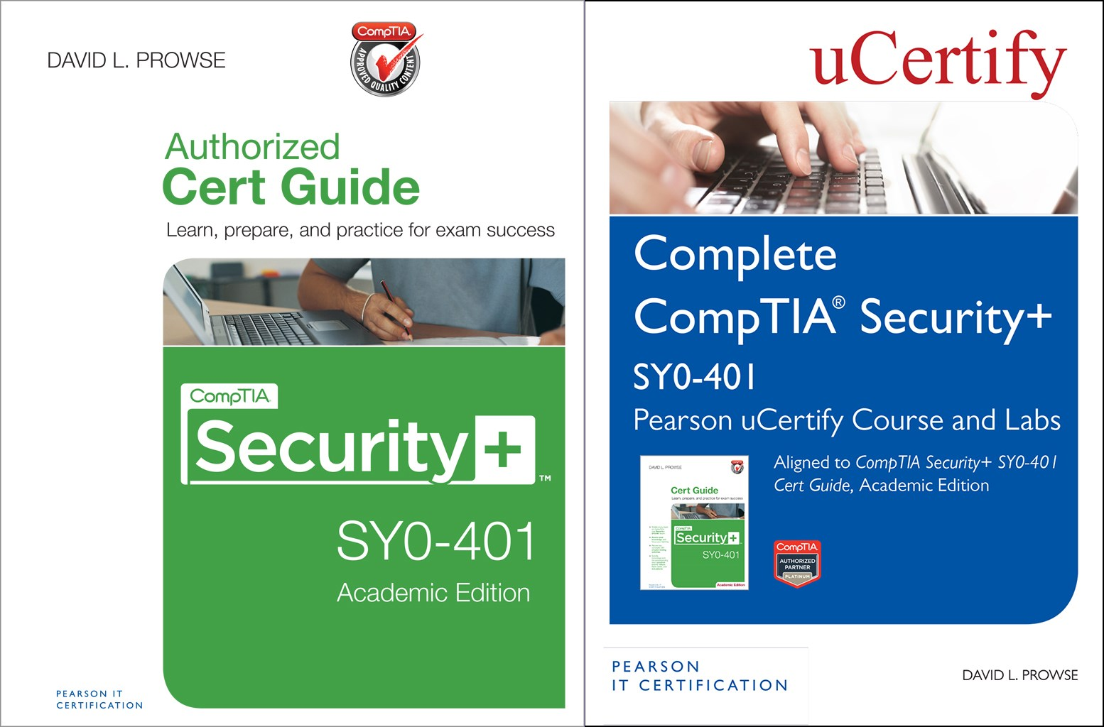 CompTIA Security+ SY0-401 Pearson uCertify Course and Labs and Textbook Bundle