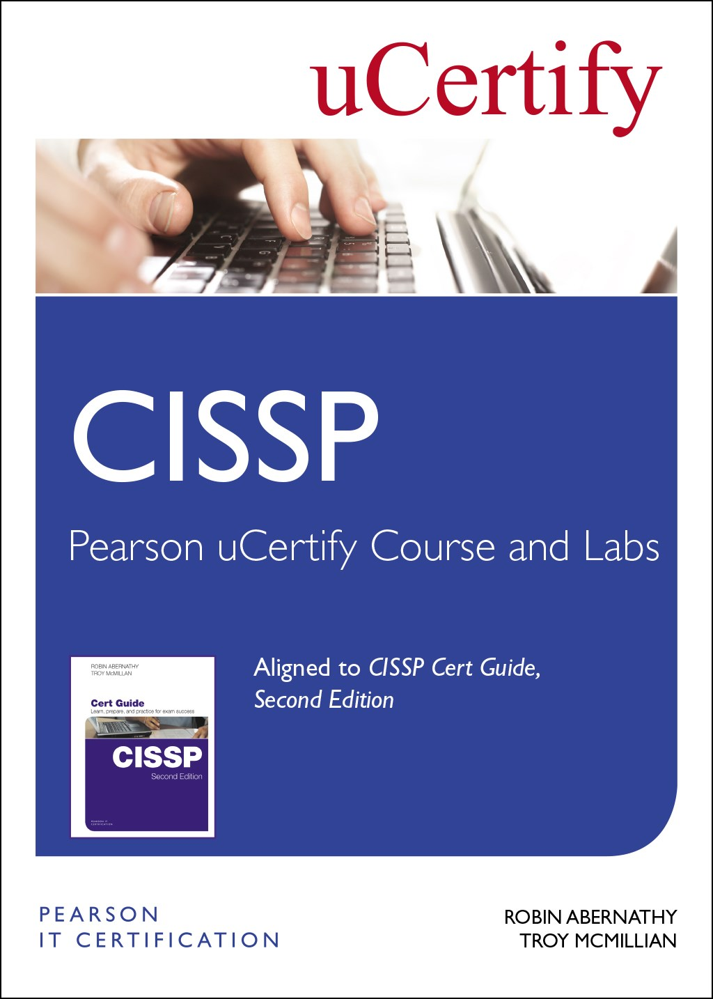 CISSP Pearson uCertify Course and Labs Access Card