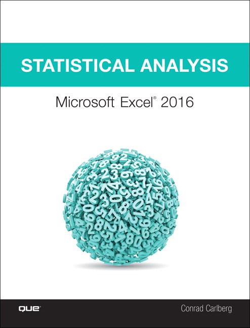 Statistical Analysis: Microsoft Excel 2016