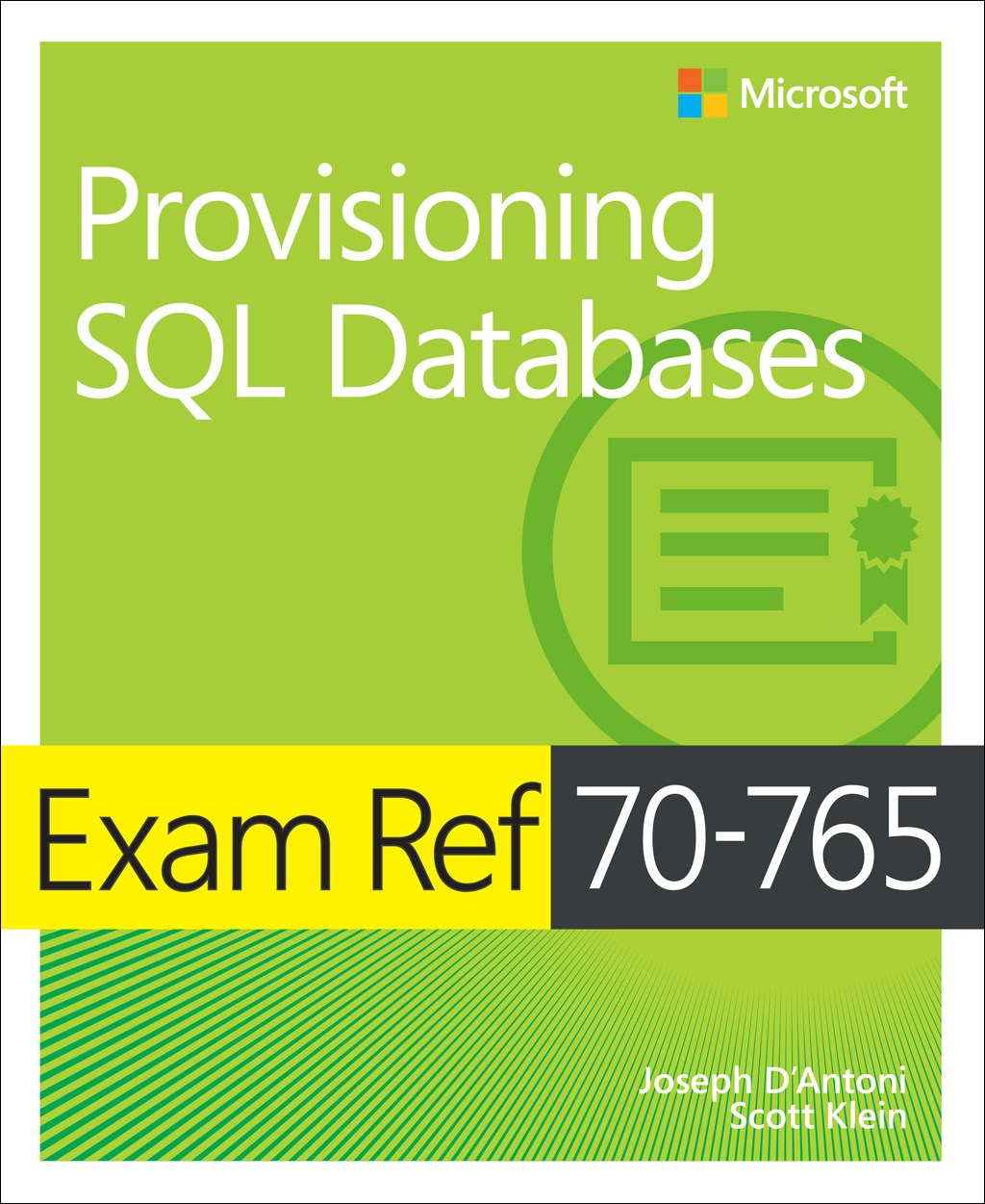 Exam Ref 70-765 Provisioning SQL Databases
