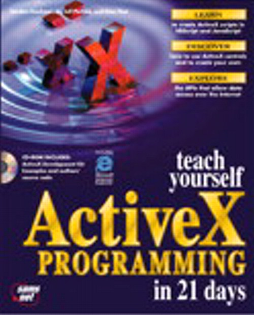 Sams Teach Yourself ActiveX Programming in 21 Days