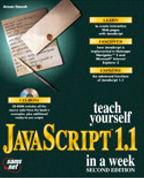 Sams Teach Yourself JavaScript 1.1 in a Week, Second Edition, 2nd Edition