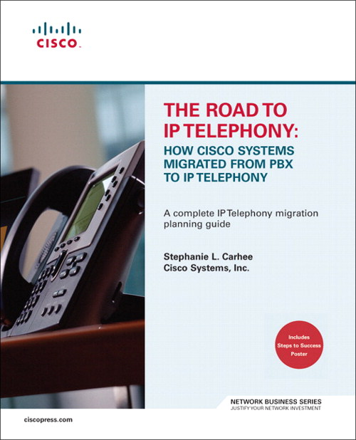 Road to IP Telephony, The: How Cisco Systems Migrated from PBX to IP Telephony